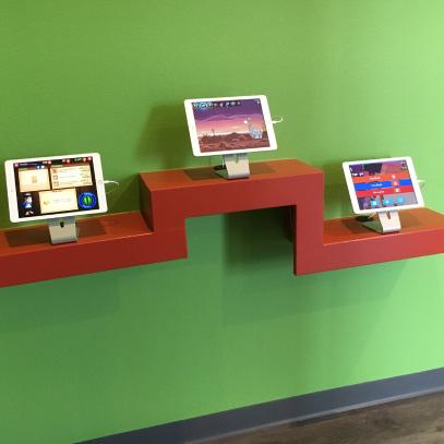 iPads in dental office