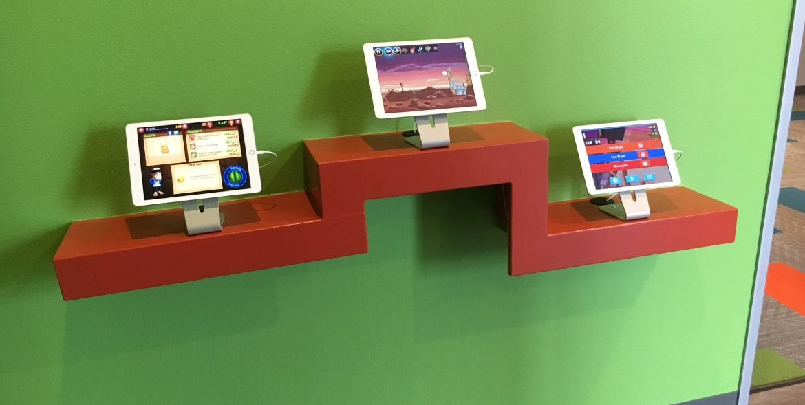 iPads for kids at dentist office